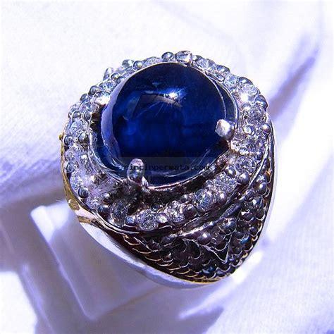 Batu Cincin Blue Safir Menawan cincin blue safir sa024 cincinpermata jual batu