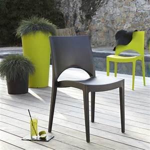 Chaise Salon De Jardin : salon de jardin table et chaise mobilier de jardin leroy merlin ~ Teatrodelosmanantiales.com Idées de Décoration