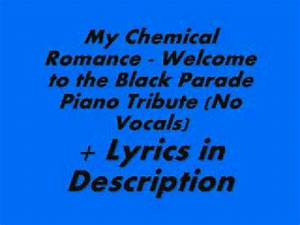 welcome to the black parade lyrics - DriverLayer Search Engine