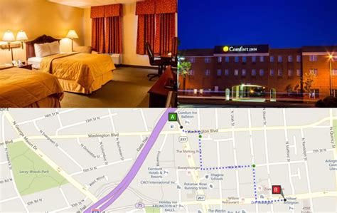 comfort inn ballston safest areas with hotels the dc hotels dc metro