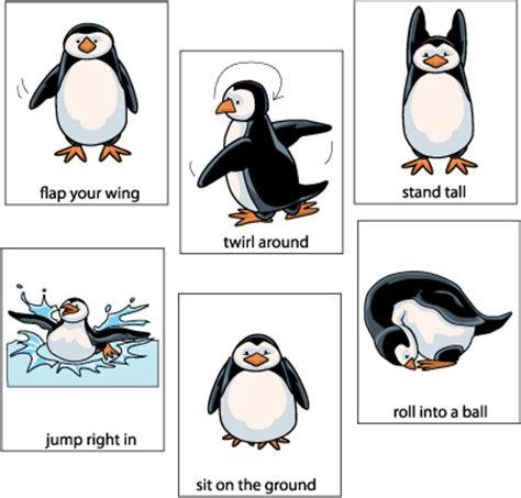 penguin activities for preschool and kindergarten kidssoup 248 | PengMovecrd