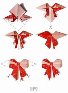 Faire Des Origami : petits noeuds en origami bonjour darling ~ Nature-et-papiers.com Idées de Décoration