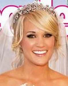 Carrie underwood wedding hair