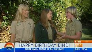 Bindi Irwin's brother Robert is spitting image of Steve as ...