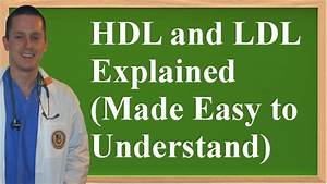 Ldl Hdl Quotient Berechnen : hdl and ldl explained made easy to understand youtube ~ Themetempest.com Abrechnung