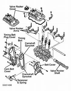 1991 Subaru Justy Serpentine Belt Routing And Timing Belt