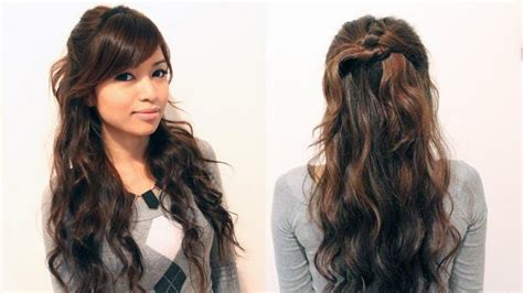 2019 popular casual hairstyles for long curly hair
