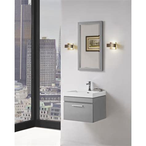 Modern Bathroom Ca 91605 by Fairmont Designs Metropolitan 21 Quot Wall Mount Vanity And