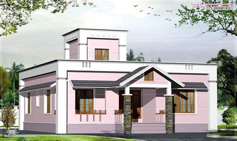 New Home Design 1000 Sqfeet Small Budget Villa Plan