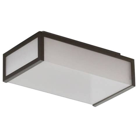 rectangular flush mount light small deco rectangular flush mounts or