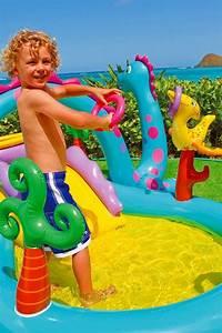 Jeux D Eau Jardin : piscine aire de jeux d eau avec toboggan dinoland intex ~ Melissatoandfro.com Idées de Décoration