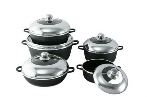 dessini dessini  stick cooking pots  pieces black