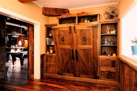 custom design home antique reclaimed wood murphy wall bed