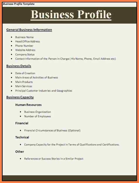 company profile sample letter company letterhead