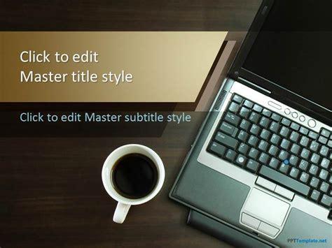 notebook coffee  template