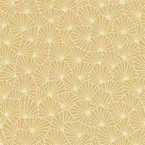 Papier Peint Noir Et Doré : papier peint roxane 100 intiss motif graphique mat jaune moutarde ~ Melissatoandfro.com Idées de Décoration