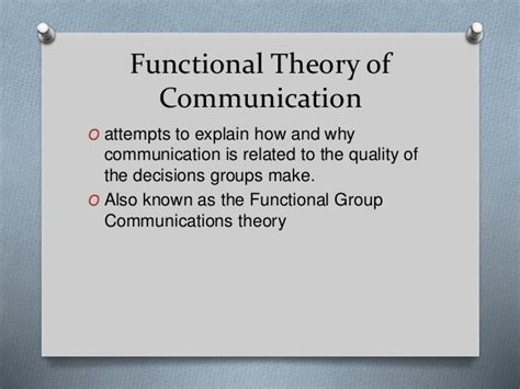 Theory Of Functionals And Functional Theory Of Communication