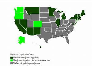 states where weed is legalized