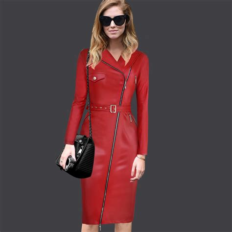 Versatile Youu2019re Look with Leather Bodycon Outfits u2013 Designers Outfits Collection