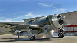"Restored WWII Republic P47 Thunderbolt ""Razorback"" Fighter Flight Demo !"