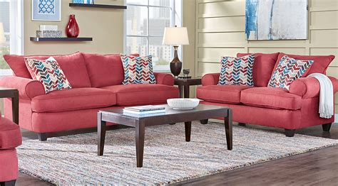 red white beige living room furniture decorating ideas