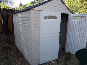 lot detail rubbermaid 7 square storage shed with wood