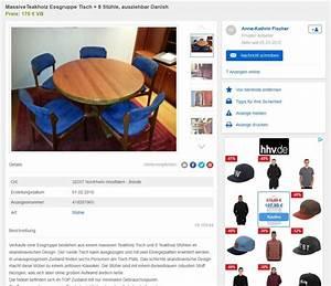 Esszimmerstühle Ebay Kleinanzeigen : 8 esszimmerst hle von erik buck tisch danish design ~ Watch28wear.com Haus und Dekorationen