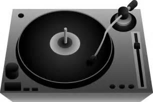 DJ Turntable Clip Art