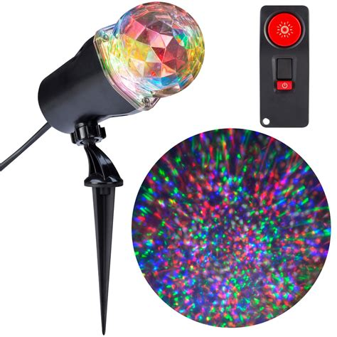white christmas light projector shop gemmy lightshow swirling multicolor led kaleidoscope