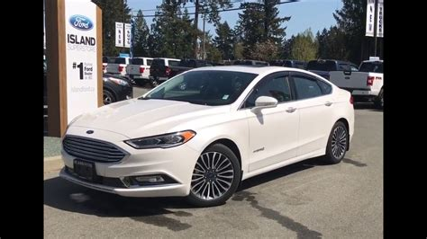ford fusion hybrid titanium review island ford youtube