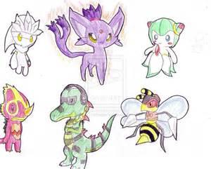 Pokemon Sonic Characters