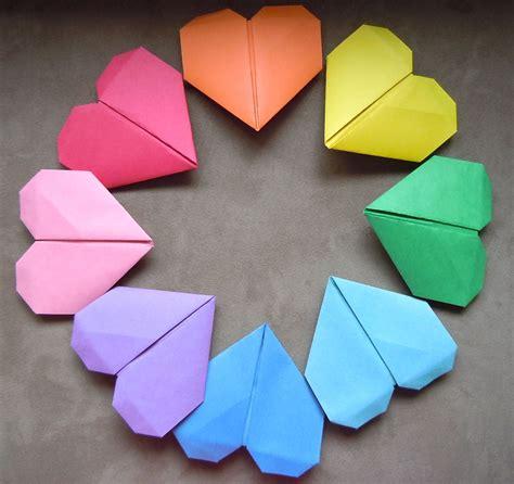 life   bay diy origami heart bookmark