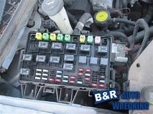 Chevrolet Uplander 2007 Fuse Box  25390882   646