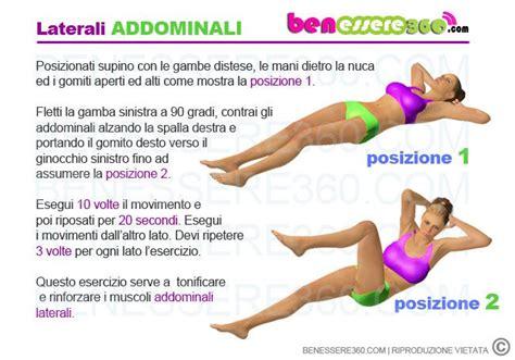 esercizi addominali donne a casa addominali scolpiti esercizi allenamento ed alimentazione