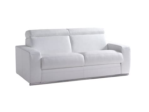 canape blanc convertible canape convertible cuir blanc