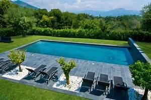 Photo D Amenagement Piscine : r ussir l 39 am nagement de votre jardin avec une piscine ~ Premium-room.com Idées de Décoration