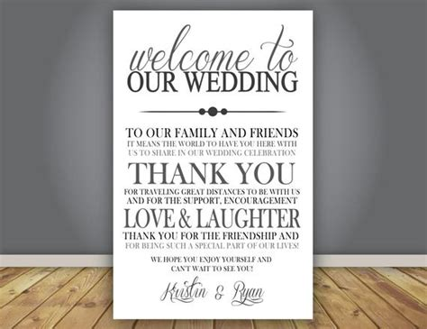 Add-on Thank You Note Wedding Program Add On Guest Thank