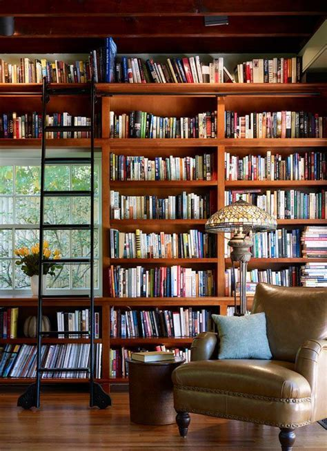 25 best ideas about cozy home library on
