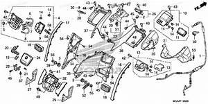 Honda Motorcycle 2008 Oem Parts Diagram For Shelter  Gl1800 U0026 39 06