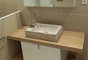 Vasque En Pierre : bain ~ Teatrodelosmanantiales.com Idées de Décoration