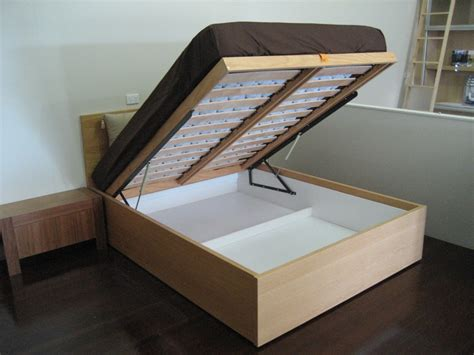 The Lift-up Bed Has Your Storage