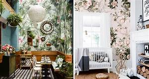 PLANT + BOTANICAL WALLPAPER ROUND UP