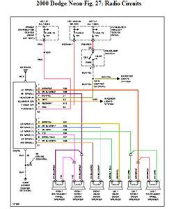 96 Dodge Neon Factory Radio Wiring dodge neon radio wiring wiring diagram