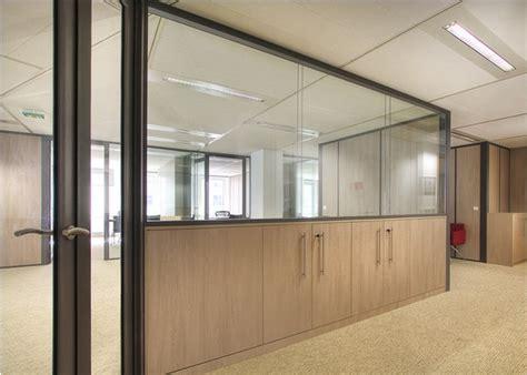cloison bureaux cloison de bureau vitrée maison travaux