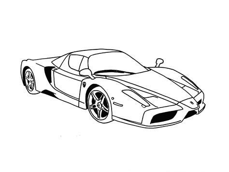 ferrari enzo sketch speed drawing ferrari enzo быстрое рисование феррари
