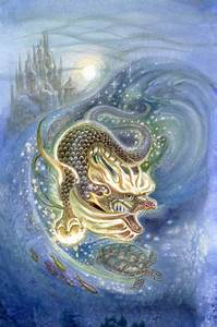 [Fantasy art] The Japanese Water Dragon by lisahunt at ...