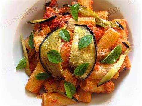 pates aux aubergines et ricotta recettes de p 226 tes et aubergines 6