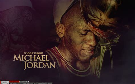 michael jordan heart   champion wallpaper slam