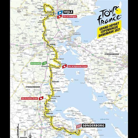 Les cols et difficultés du tour de france 2021. Details of the first three stages of the 2021 Tour de ...