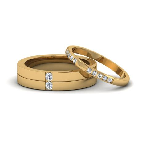 matching diamond annivesary wedding bands